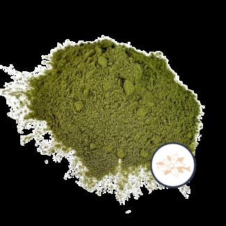 matcha powder with vanilla icon
